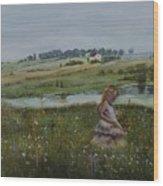 Tender Blossom - Lmj Wood Print