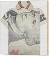 Tendollar T Shirt Wood Print by Kevin  Sherf