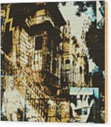Tenementality Wood Print