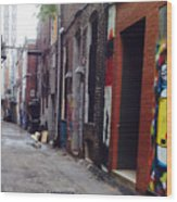 Tennessee Alley Wood Print by Joyce Kimble Smith