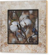 Tennessee Cotton II Photo Square Wood Print