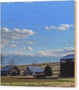 Tennessee Farm Wood Print