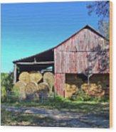 Tennessee Hay Barn Wood Print