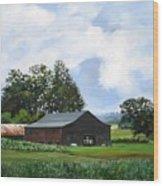 Tennessee Sky Wood Print
