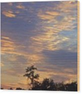 Tennessee Sunset  Wood Print