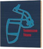 Tennessee Titans Retro Wood Print