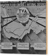 Tennessee Valley Authoritys Wood Print