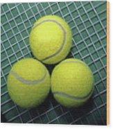 Tennis Anyone Wood Print