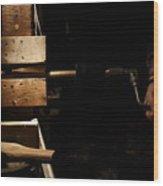 Tenon Cutter Wood Print