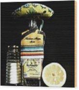 Tequila De Mexico Wood Print