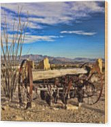 Terlingua Ghost Town 2 Wood Print