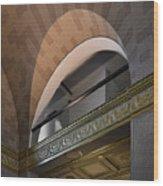Terminal Station Detail - 01 Wood Print