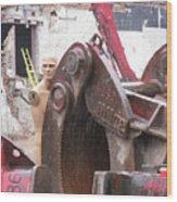 Terminator In Toronto Wood Print