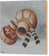Terra Cotta IIi Wood Print