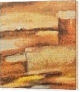 Terra Rossa Wood Print
