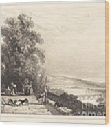 Terrace Of St. Cloud (terrasse De St. Cloud) Wood Print