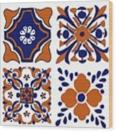 Terracota Wood Print