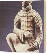 Terracotta Soldier Wood Print