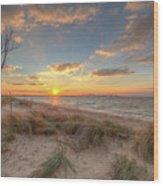 Terrapin Park Sunset Wood Print