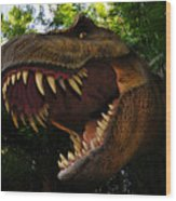 Terrible Lizard Wood Print