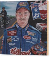 Terry Labonte Wood Print
