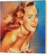 Terry Moore, Vintage Hollywood Actress Wood Print