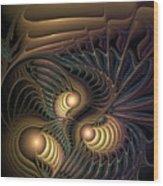 Tertiary Harmonics Wood Print
