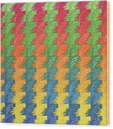Tessellation Wood Print