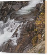 Teton Falls Wood Print
