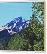 Teton Picture Perfect Wood Print