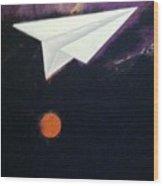 Tetrad Moon #1 Wood Print