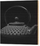 Tetsubin Teapot Wood Print