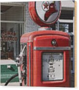 Texaco Fire-chief #1 Wood Print