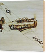 Texan T6 Wood Print
