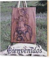 Texana Wood Print