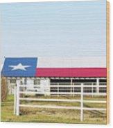Texas Barn Wood Print