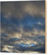 Texas Big Sky Four Wood Print