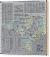Texas - Birthplace Of The Modern Oil Industry Wood Print