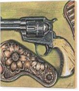 Texas Border Special Wood Print