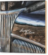 Texas - Ford Super Deluxe Wood Print