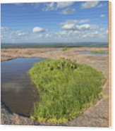 Texas Hill Country Enchanted Rock Zen Pools 2 Wood Print