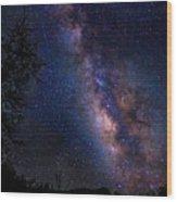Texas Stars  4665 Wood Print