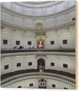 Texas State Capital  Wood Print