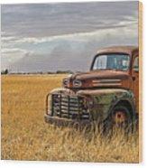 Texas Truck Ws Wood Print