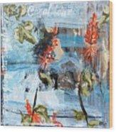 Texas Wildflowers Tp Ab Wood Print