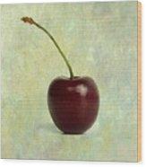 Textured Cherry. Wood Print by Bernard Jaubert