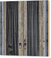 Textured Door Wood Print
