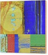 Textures Of A Thurdsay Wood Print