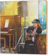 Tha Hambone Gallery In Clarksdale Wood Print