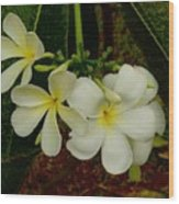 Thai Flowers II Wood Print